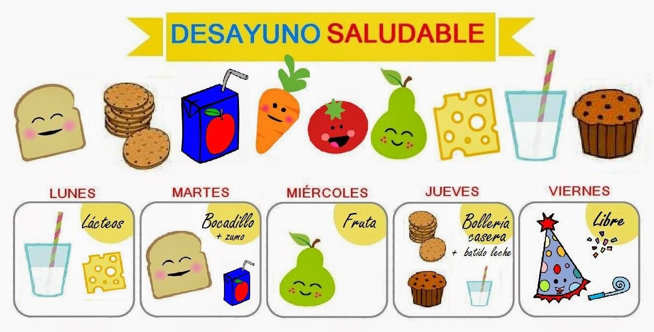 Desayuno sano y saludable 2 orientaci n and jar for Proyecto restaurante escolar