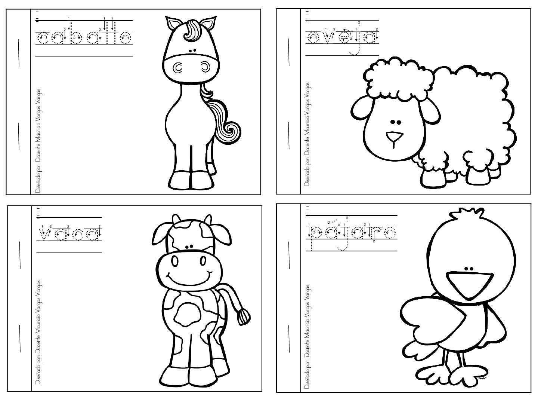 Mi libro de colorear de animales domesticos (2 ...