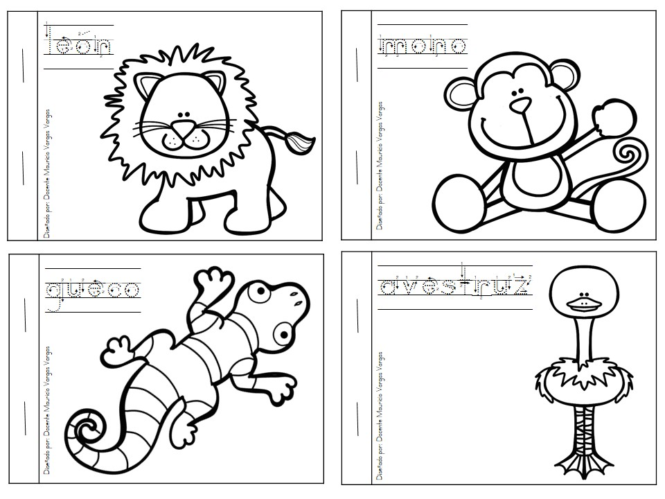 Lujoso Libro De Colorear Y Actividad Imagen - Dibujos Para Colorear ...