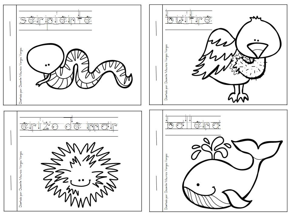 Mi libro de colorear de animales salvajes (4) - Orientación Andújar ...