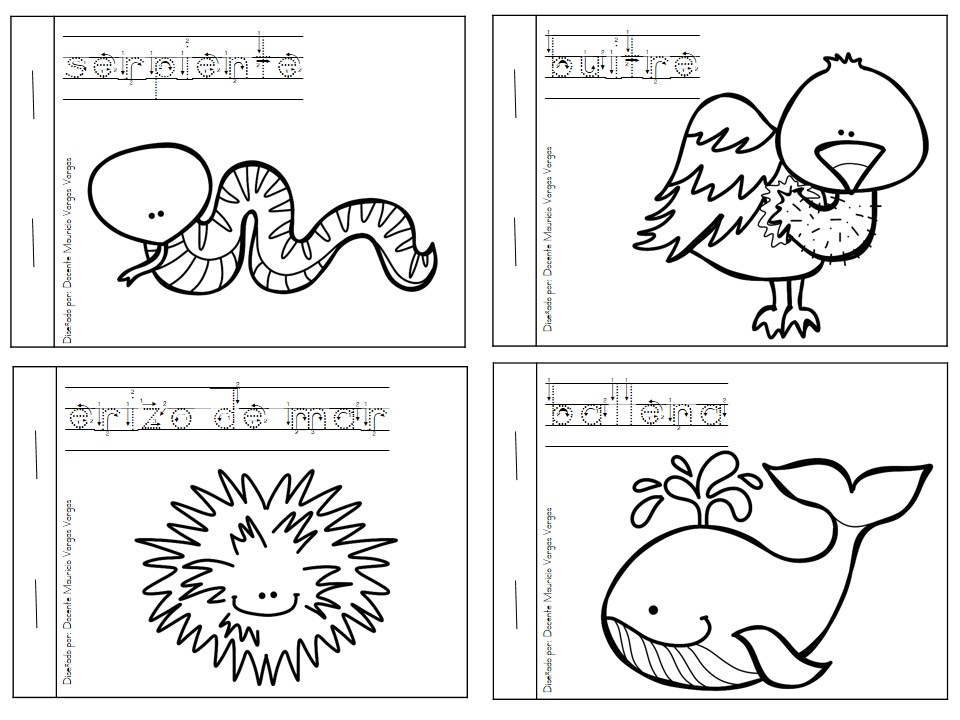 Bonito Libro Para Colorear Preescolar Pdf Componente - Dibujos Para ...