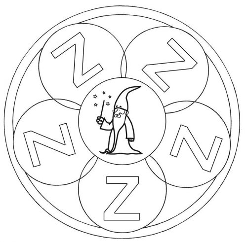 mandalas de letras orientacion andujar
