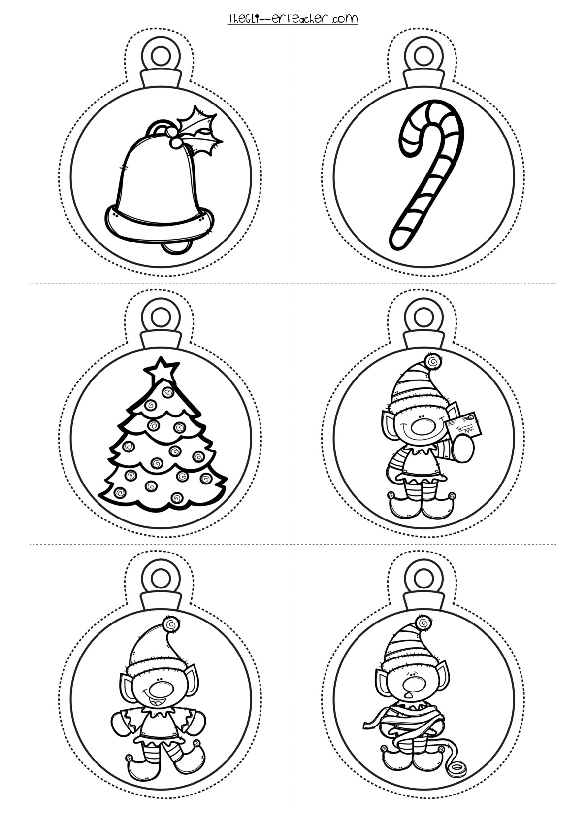 Bolas-de-navidad-para-imprimir-003 - Orientación Andújar - Recursos ...