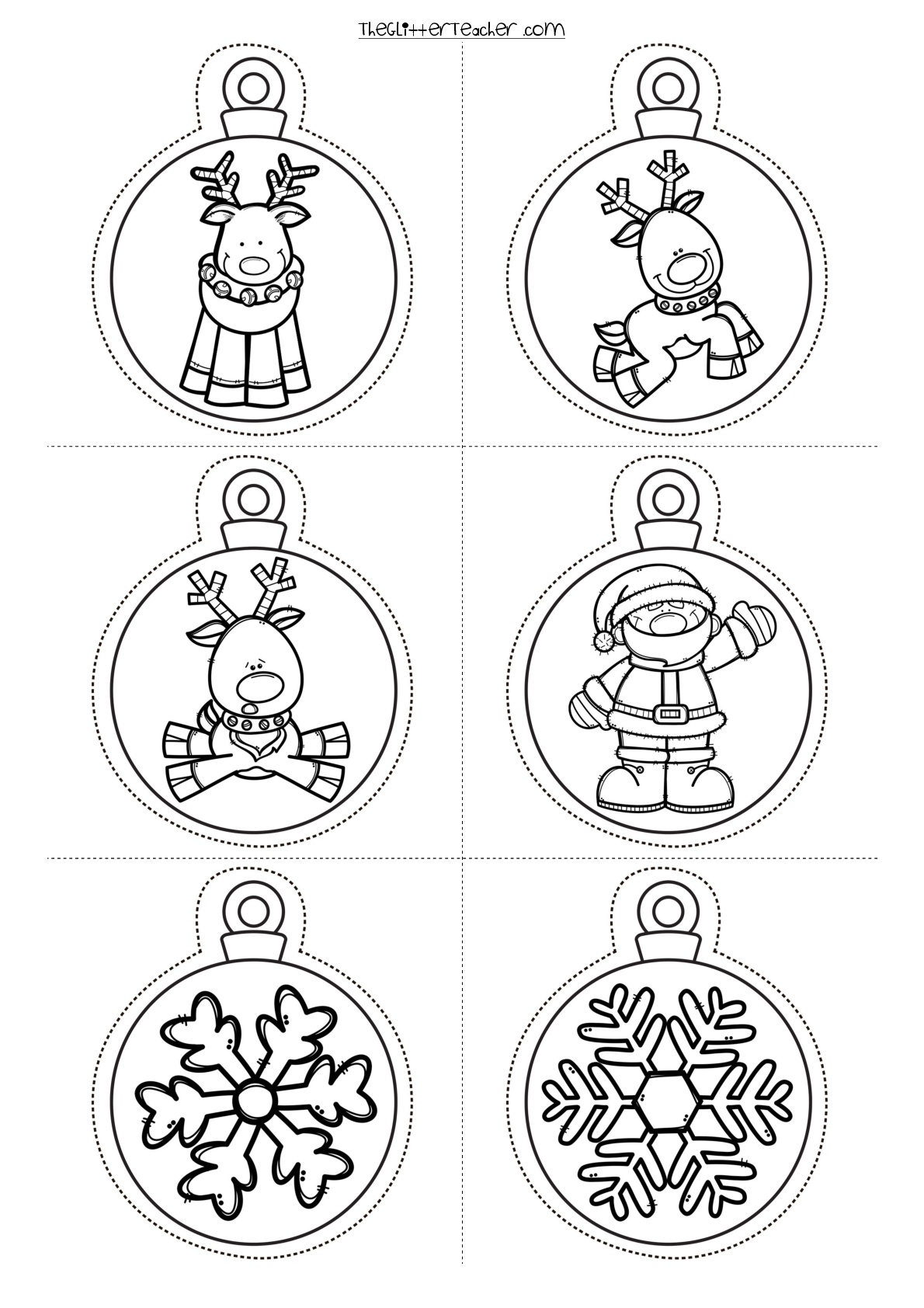 Image Result For Printable Christmas Decorations