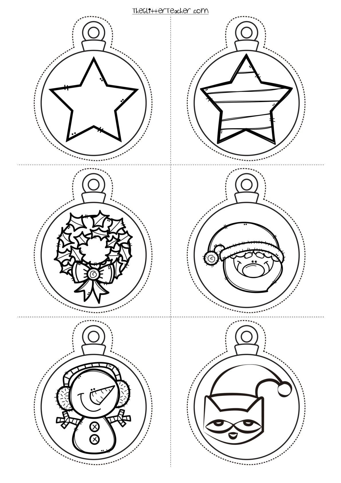 Bolas de navidad para imprimir 006 orientaci n and jar - Bolas de navidad grandes ...