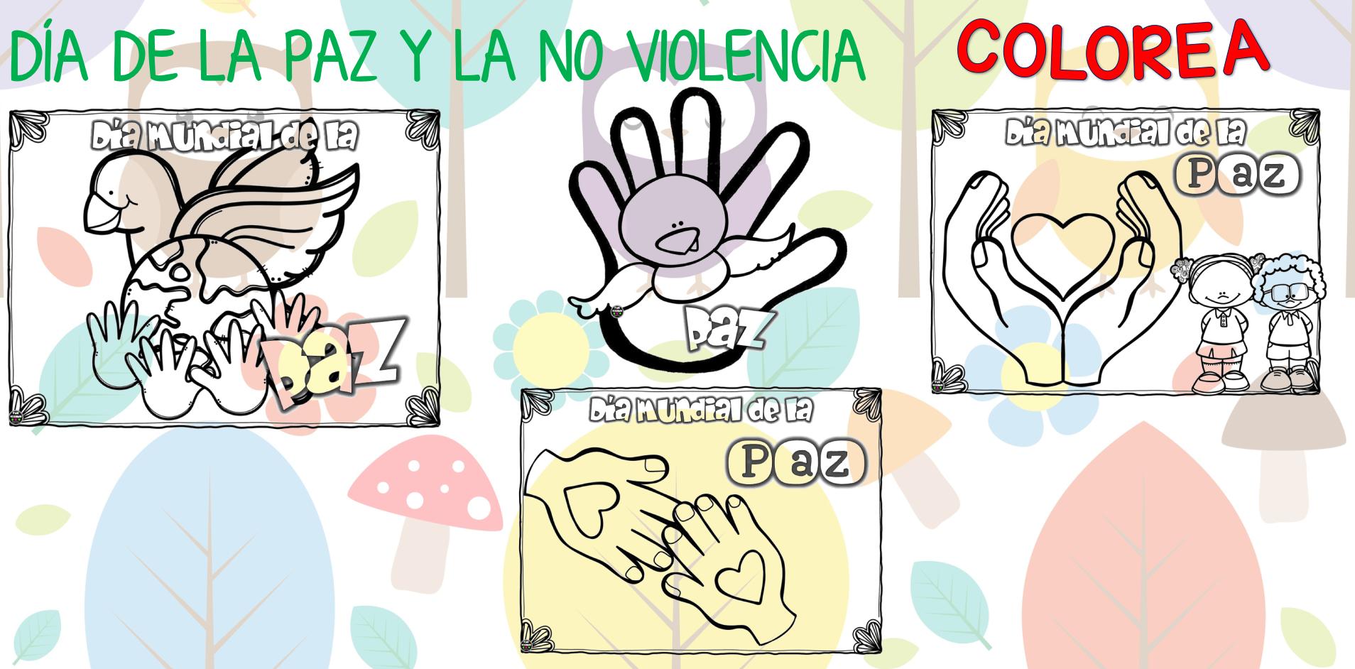 Colorear NiÑos Del Mundo: Día De La PAZ Galería De Dibujos Y CARTELES Niños Del