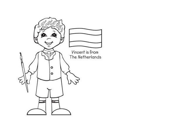 colorear chicos y chicas del mundo10 - Orientación Andújar ...