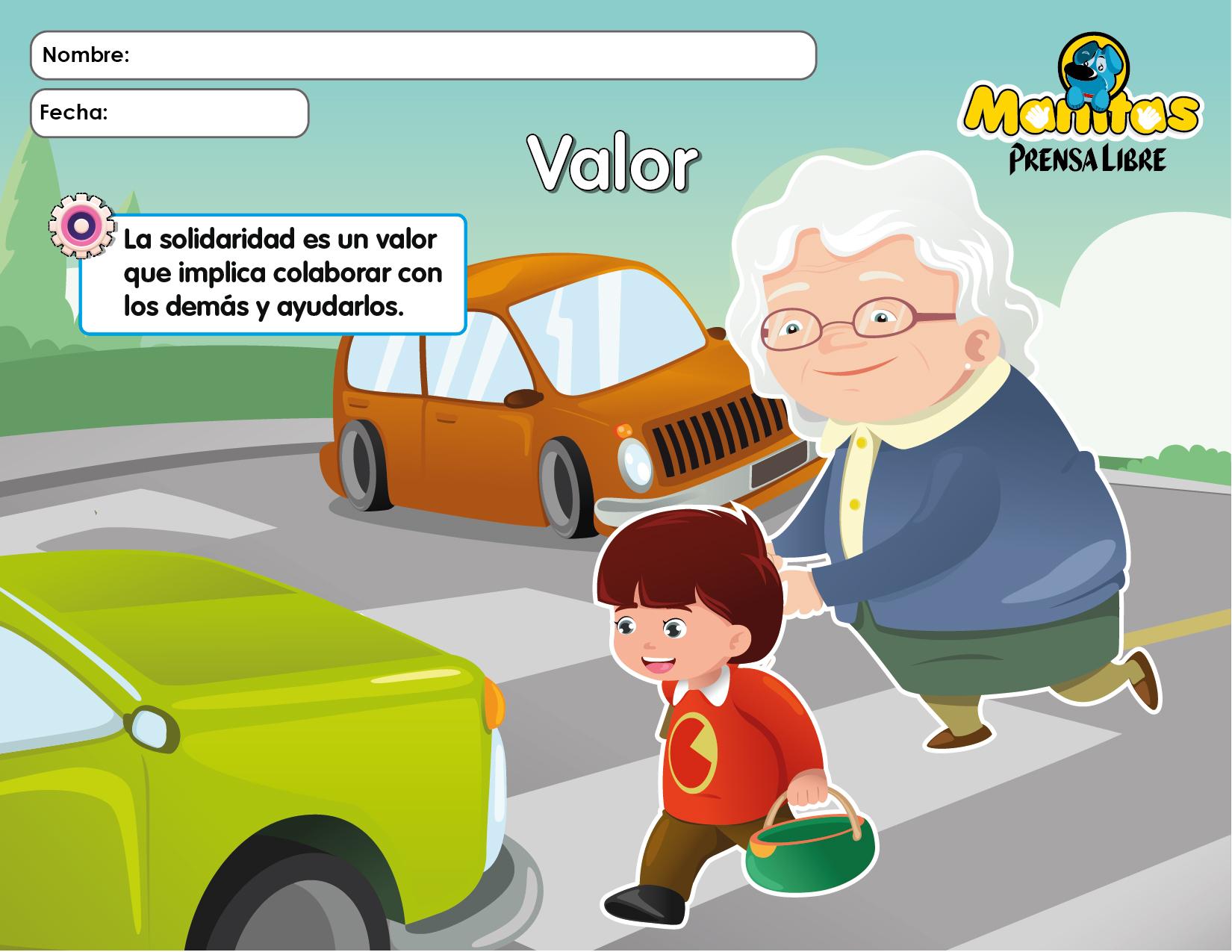 lamina valores la solidaridad - Orientación Andújar ...
