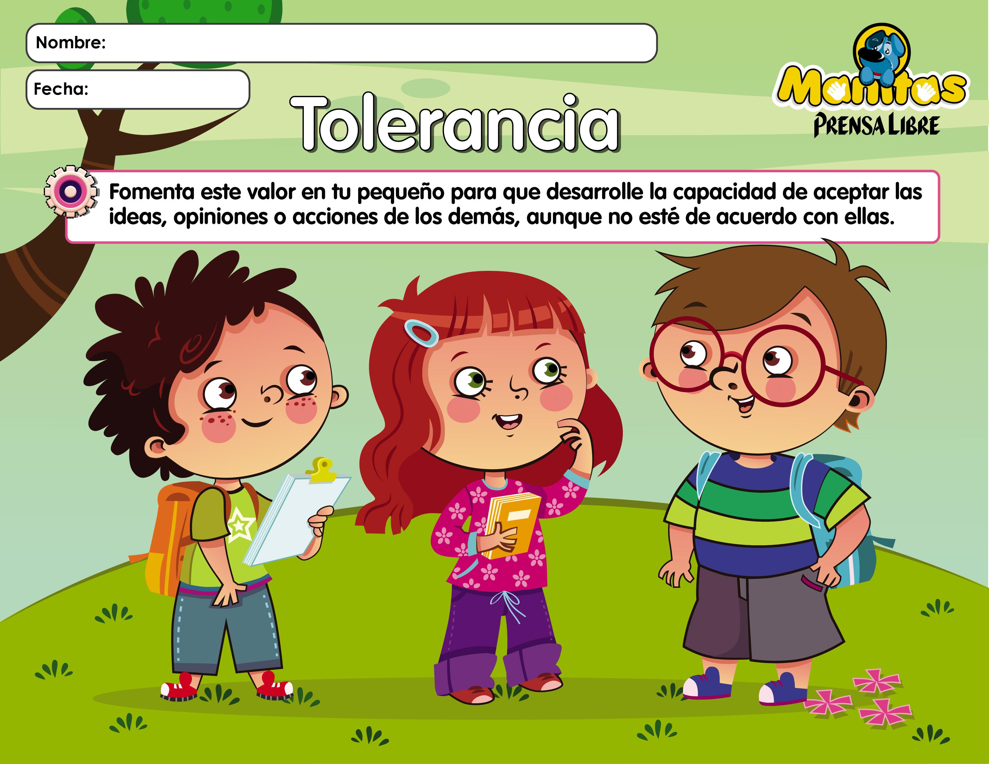 lamina valores la tolerancia - Orientación Andújar