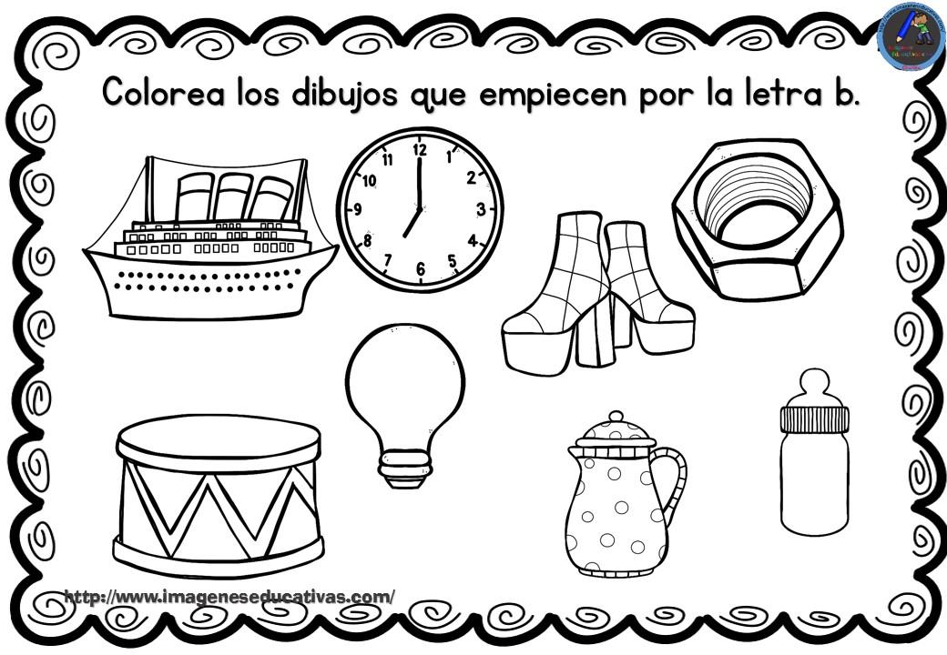 Dibujos Para Colorear Que Empiecen Con La Letra A: Dibujos Para Colorear Que Empiecen Con La Letra M