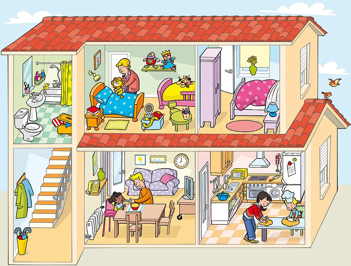 Imagen 12 dependencias del hogar familiar orientaci n for Cosas de hogar