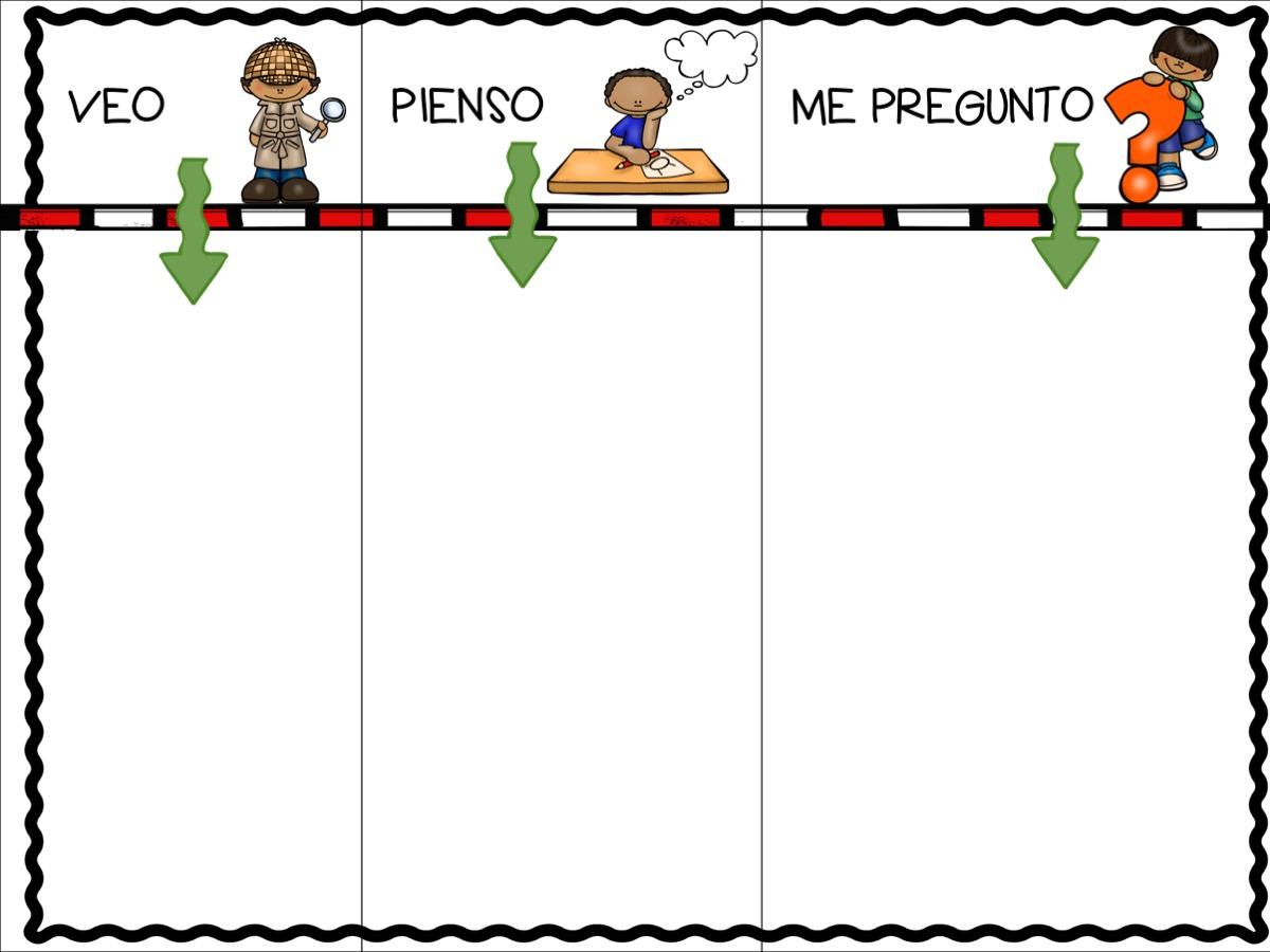 RUTINAS VEO PIENSO ME PREGUNTO INFANTIL Y PRIMARIA A36 ...