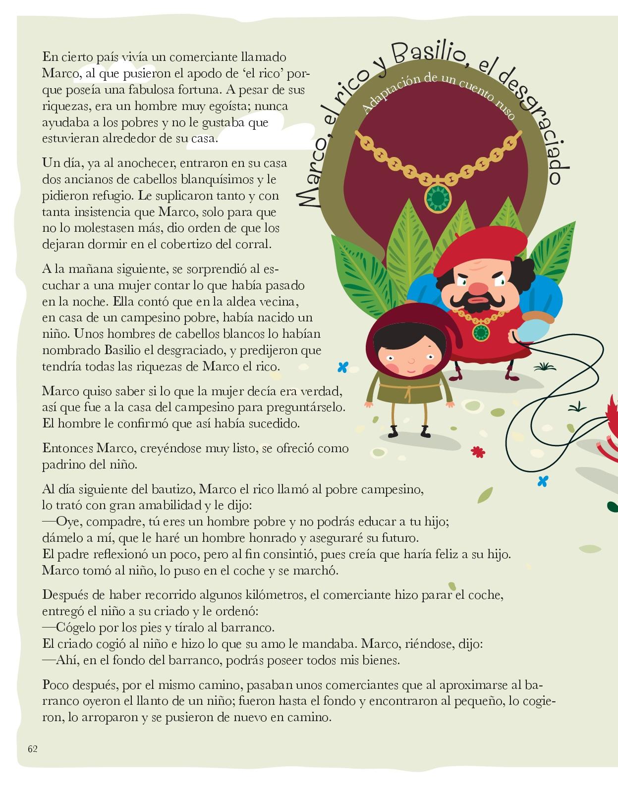 libro de cuentos para trabajar los valores con niños y niñas61 ...