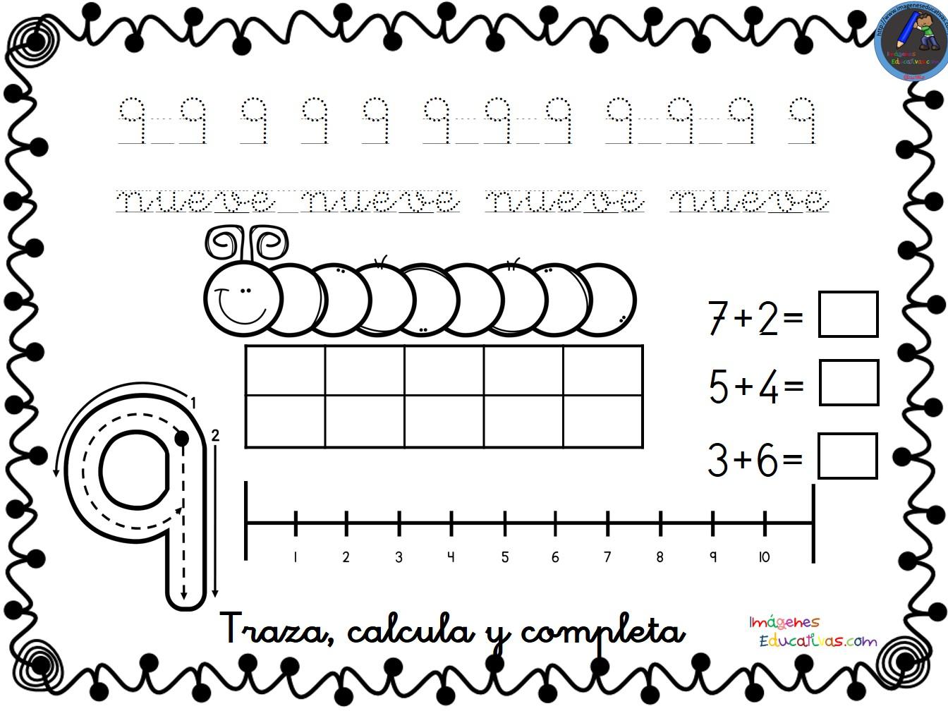 Fichas para trabajar los números del 1 al 30 -Orientacion Andujar
