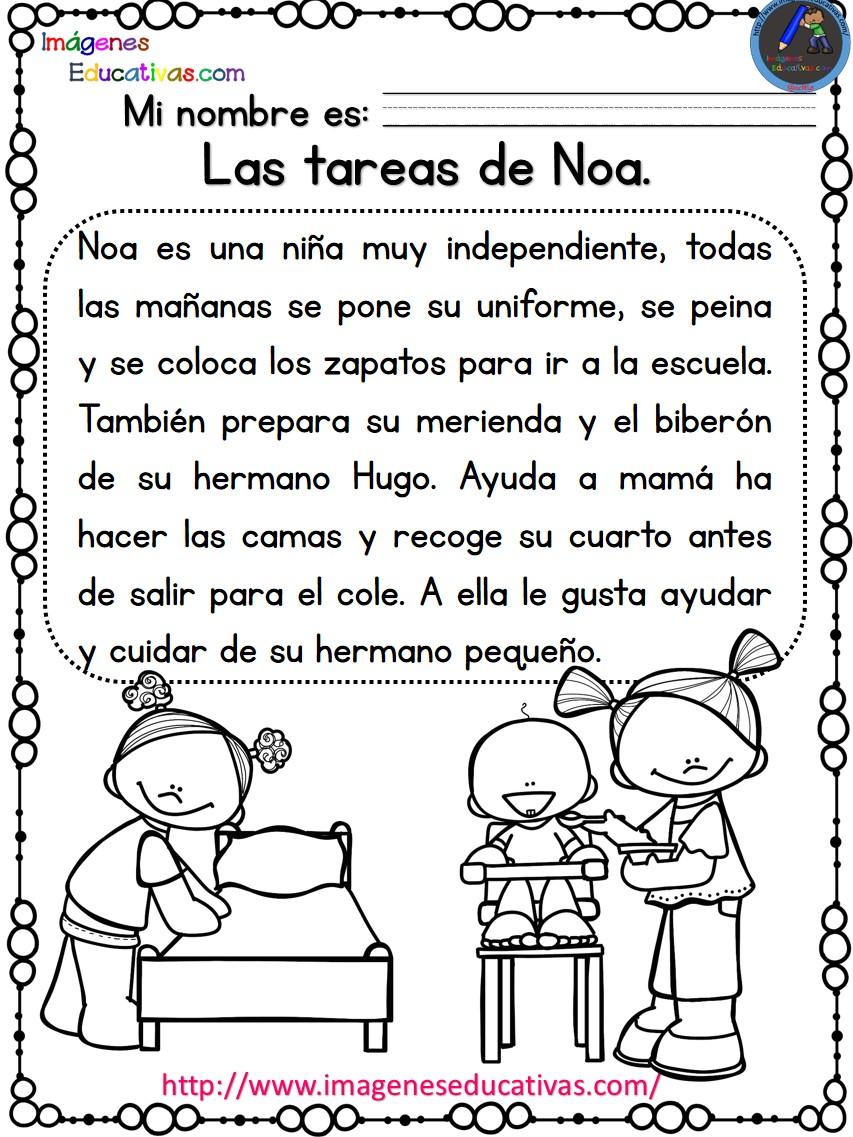 Lecturas comprensivas para Primaria Noa y Hugo (1) - Orientación ...