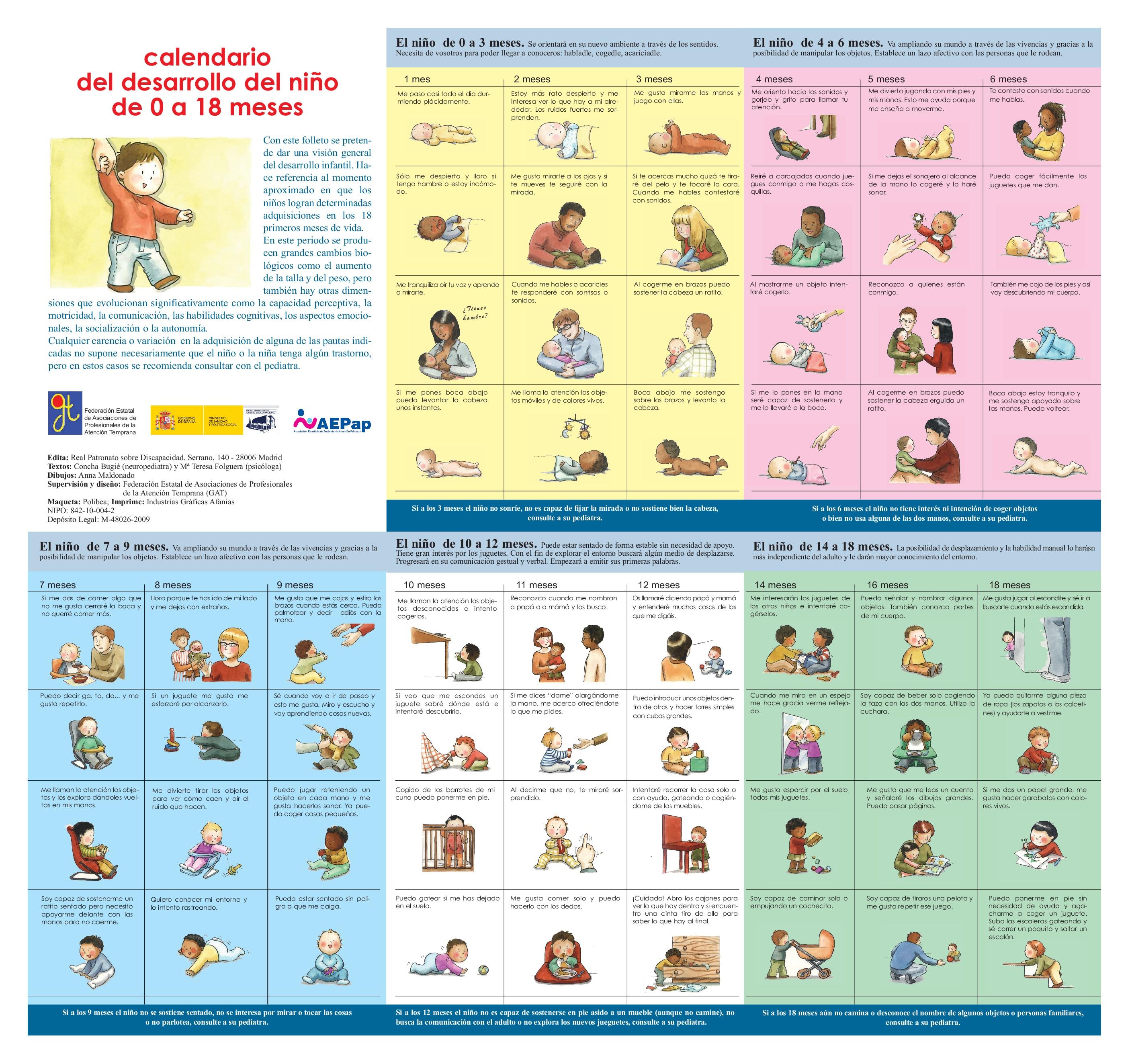 Desarrollo infantil de 0 a 18 meses en diferentes ámbitos ... c83b6a1a641