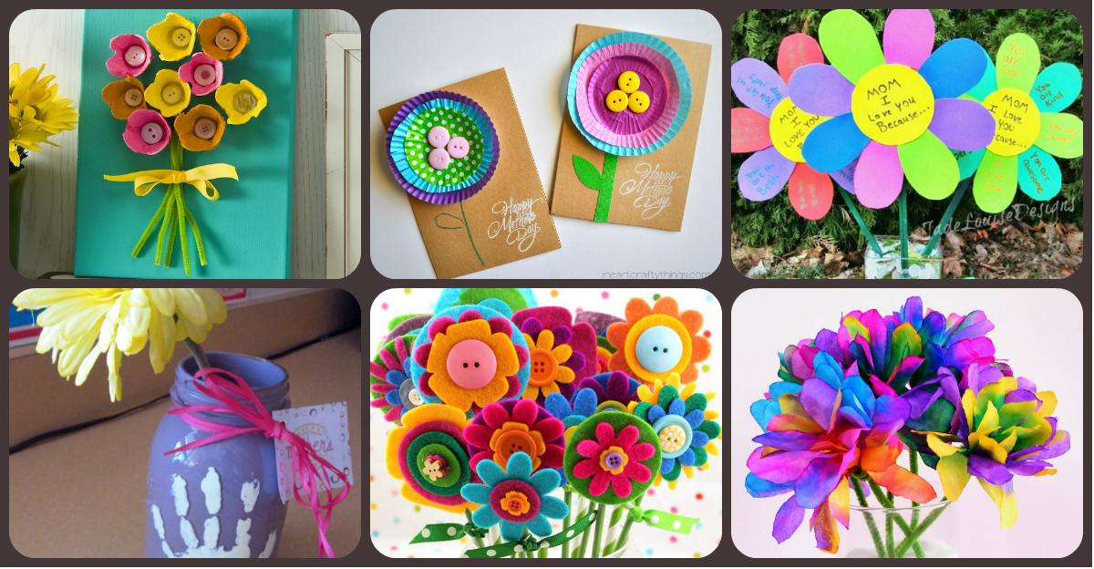 Ideas para el regalo del d a de la madre sencillas for Decoracion primavera manualidades