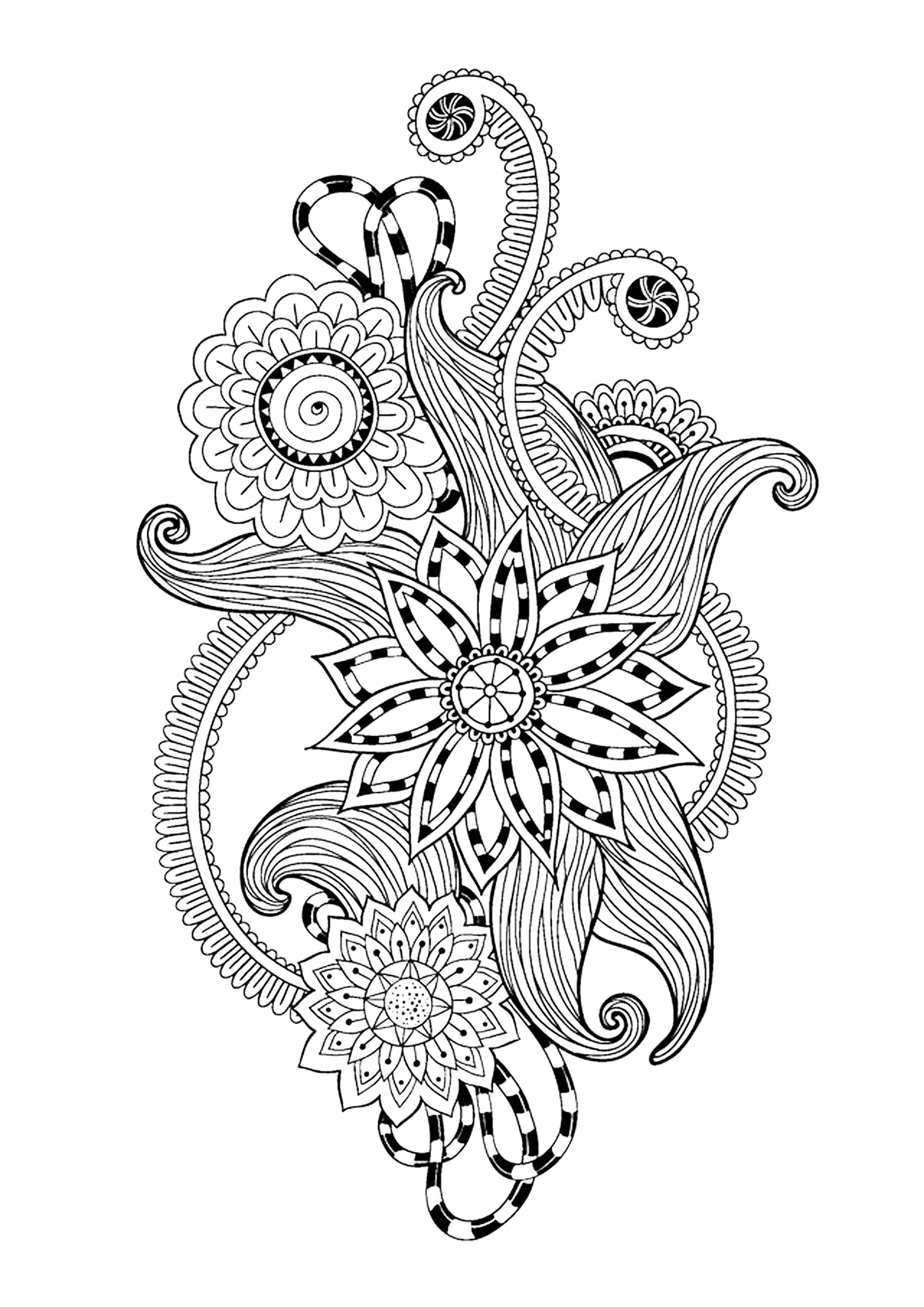 Image Result For Print Mandala Color