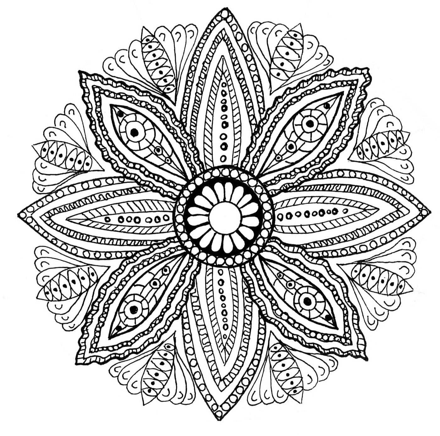 Imagenes mandala para colorear 59 orientaci n and jar - Mandala lapin ...