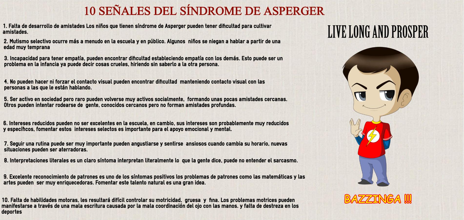 Circuito Del Habla : Síndrome de asperger 10 señales para identificar este trastorno