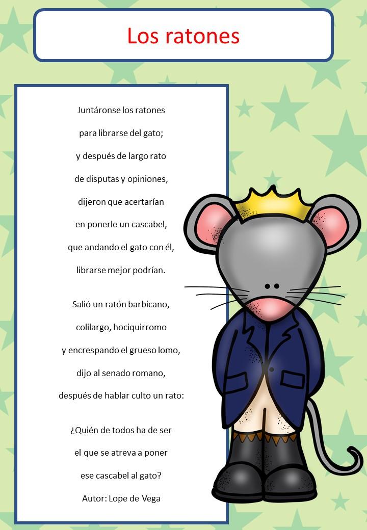 6 poemas divertidos con imagenes para trabajar en primaria - Como evitar los ratones ...