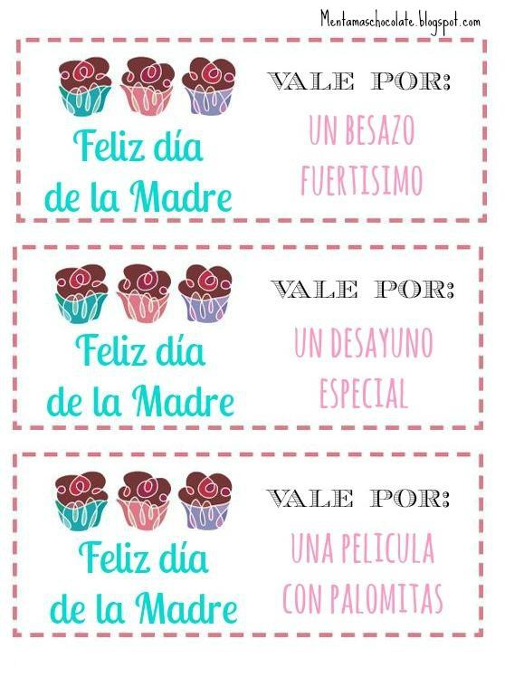Vales dia de la madre (6) - Orientación Andújar - Recursos