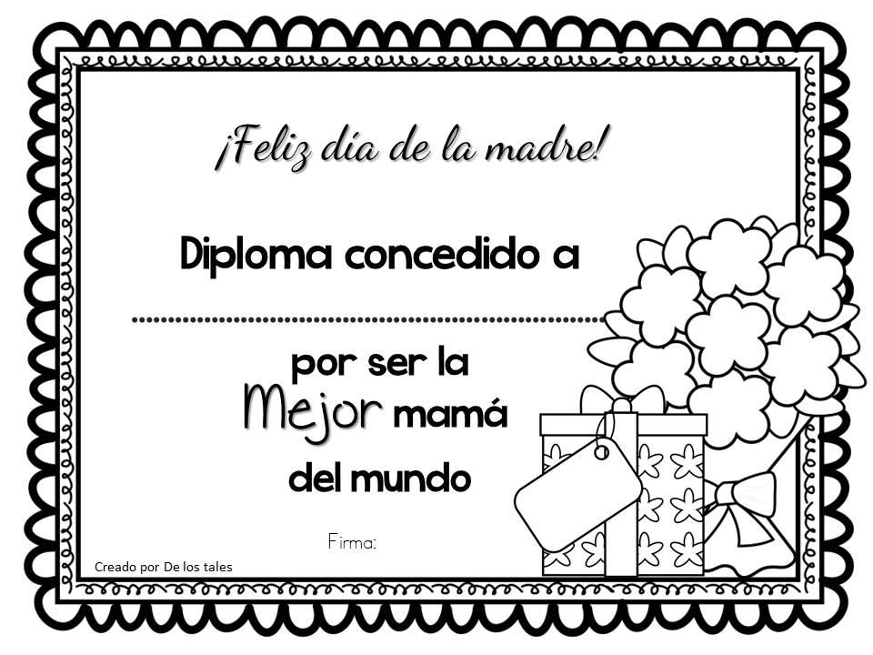 Famoso Mejores Mamás Para Colorear Ideas - Dibujos Para Colorear En ...