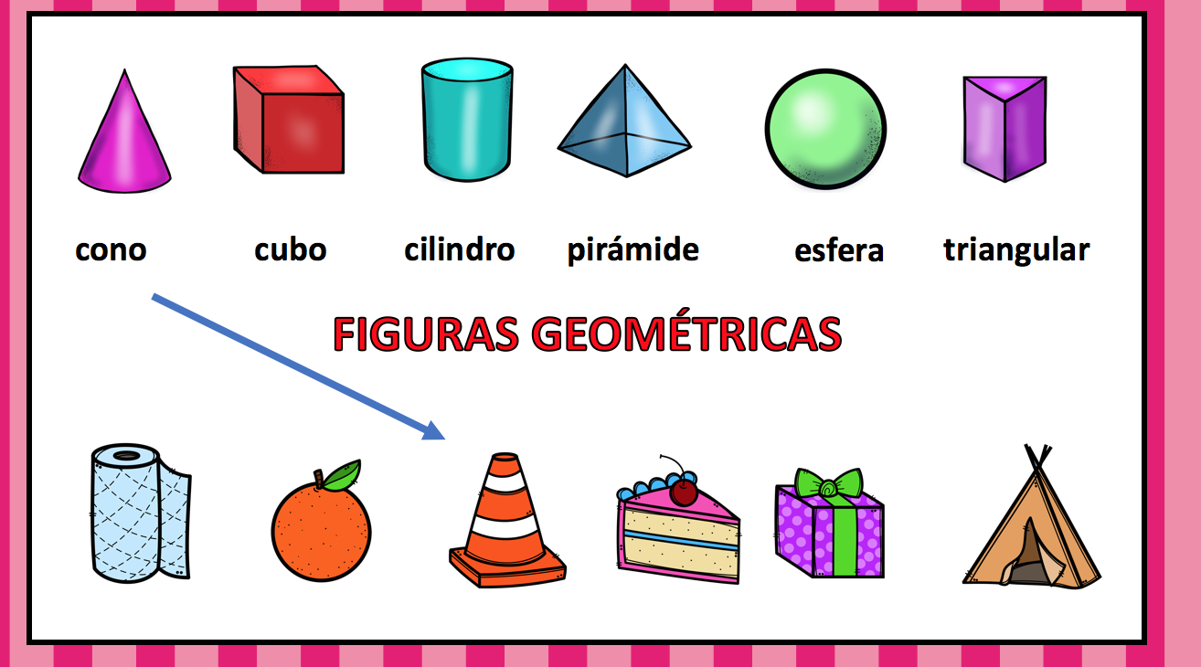 Figuras geom tricas une cada figura geom trica con el for Las formas geometricas