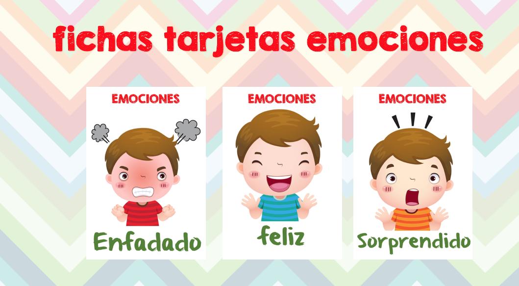 Fichas De Emociones En Nuestras Clases -Orientacion Andujar