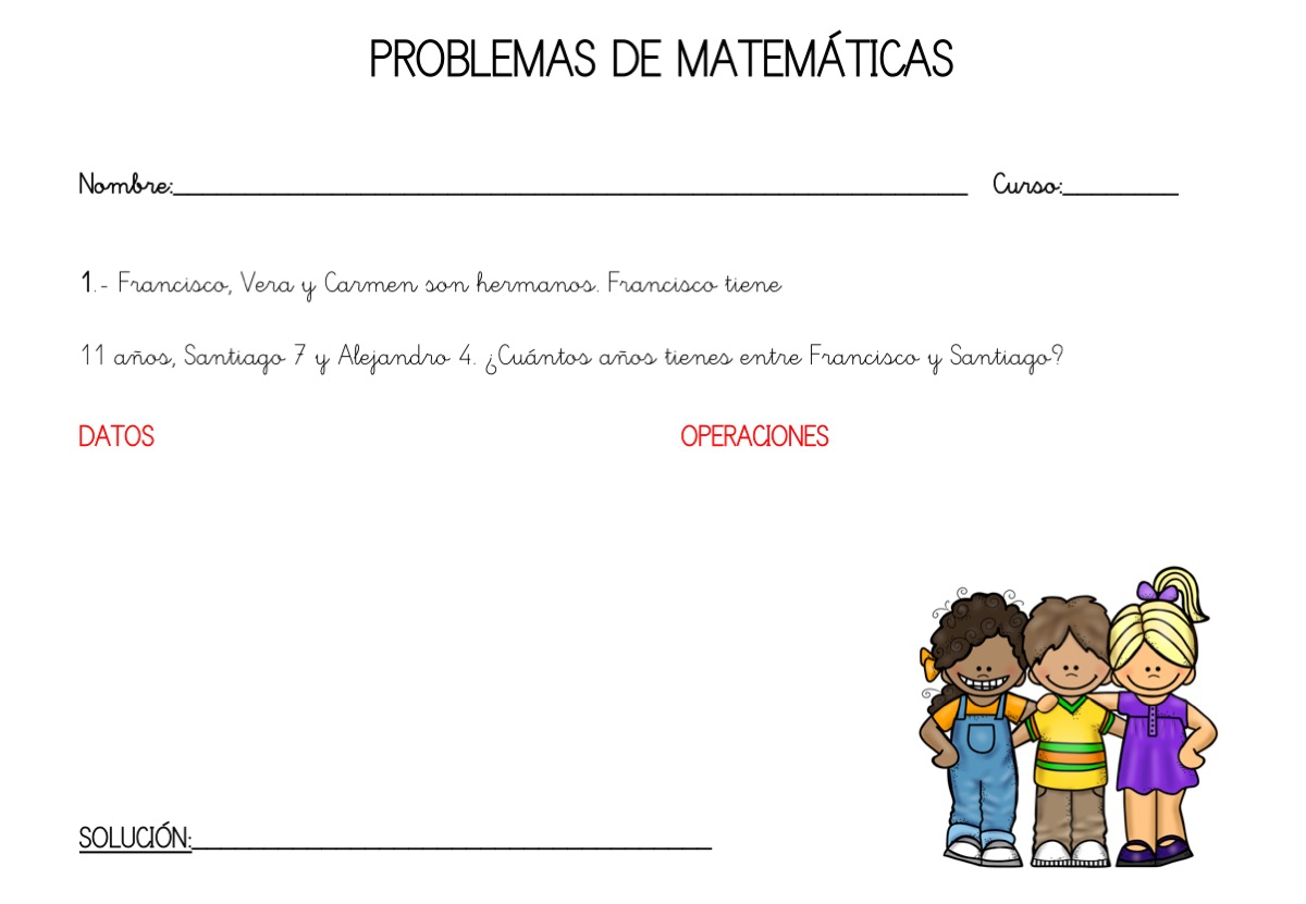 TOTALMENTE ORIGINALES COLECCION DE PROBLEMAS DE MATEMATICAS 1º ...