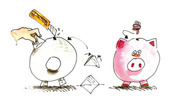 Hacer hucha cerdito orientaci n and jar recursos - Como hacer una hucha ...