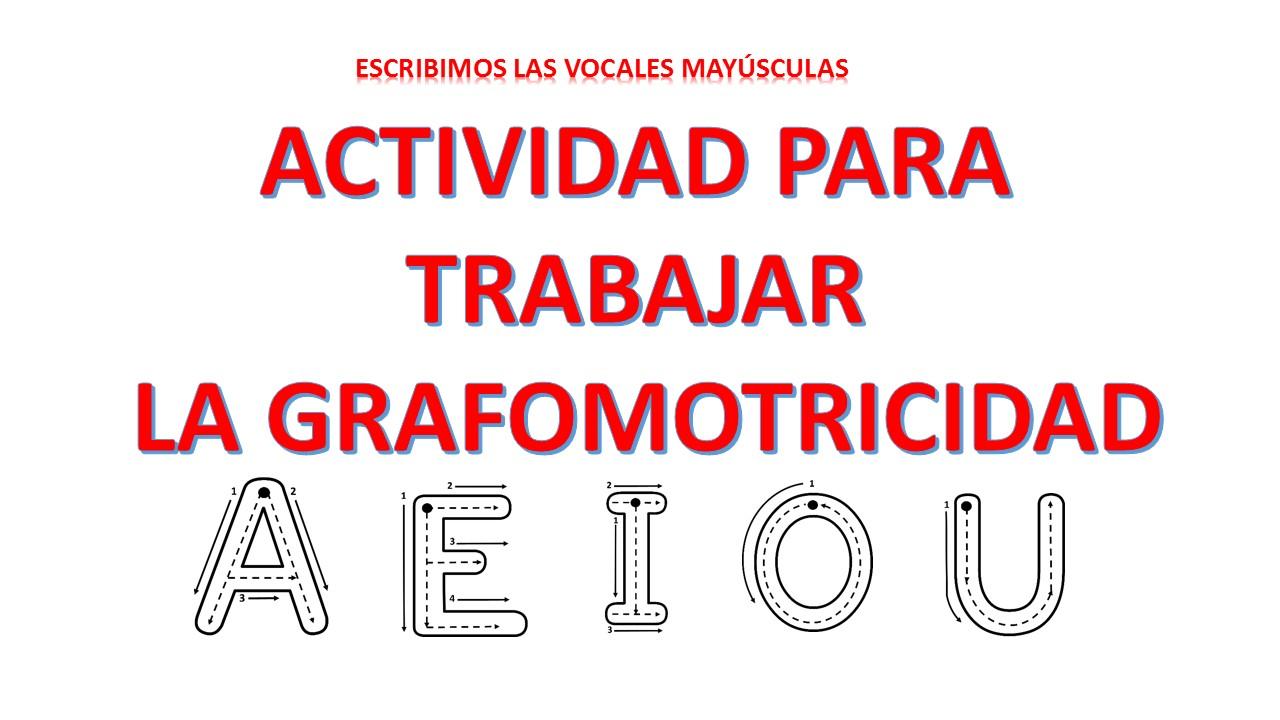 motricidad vocales mayusculas (1) - Orientación Andújar ...