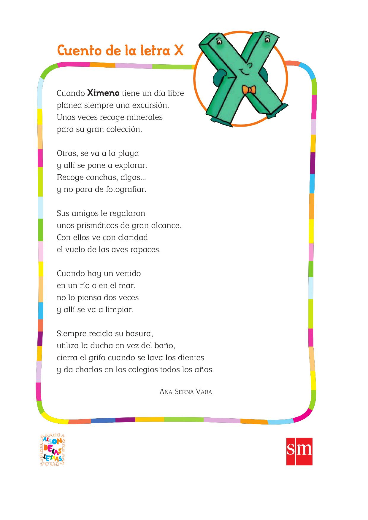 Cuentos >> cuento-con-la-letra-x - Orientación Andújar - Recursos Educativos