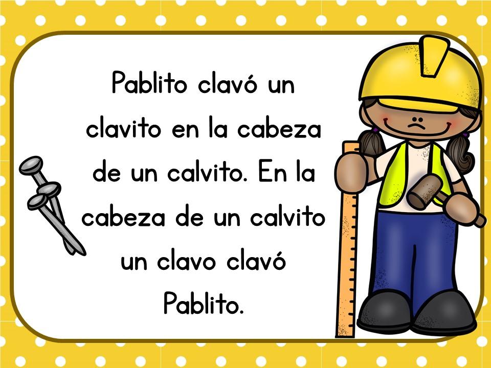 Trabalenguas infantiles fáciles para niños (10) Orientación Andújar Recursos Educativos