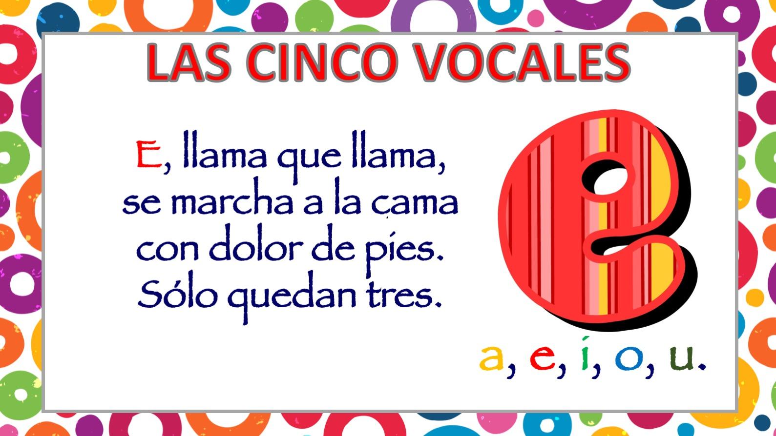Poesia De Las Vocales: APRENDEMOS LAS CINCO VOCALES POEMA DE CARLOS REVIEJO4