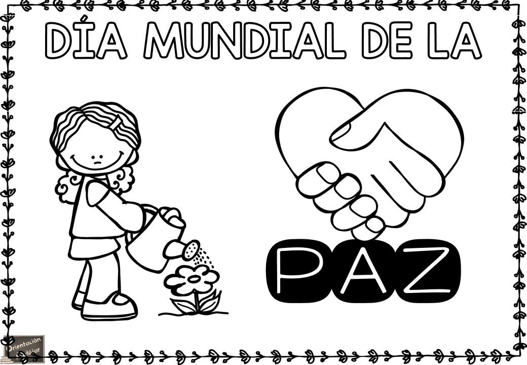Carteles Originales Para Trabajar El Día De La Paz En Clase
