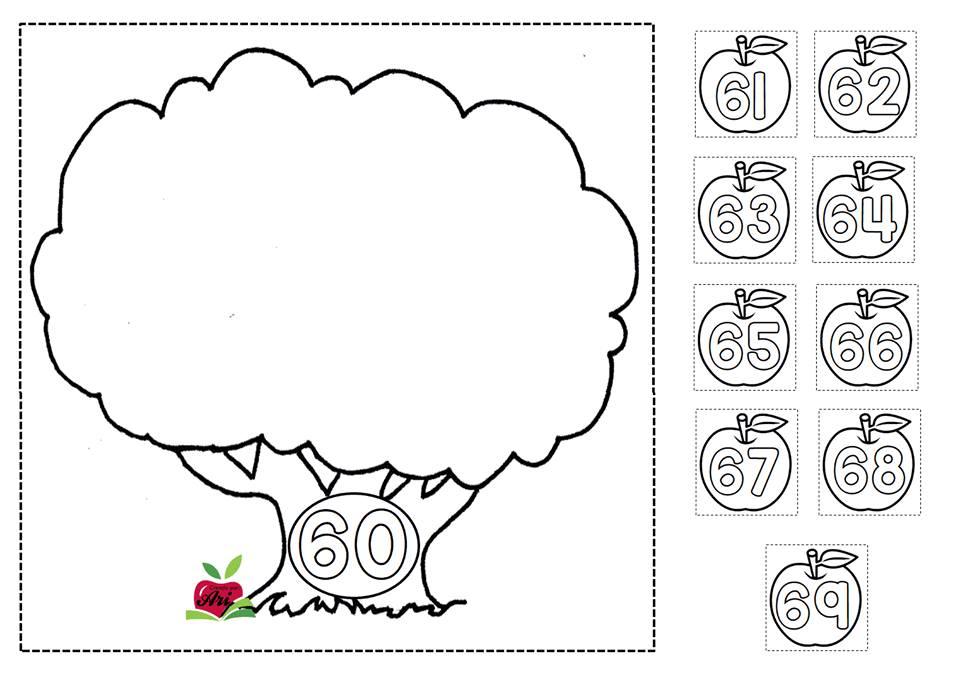 Trabajamos las familias de números con Fichas para colorear ...