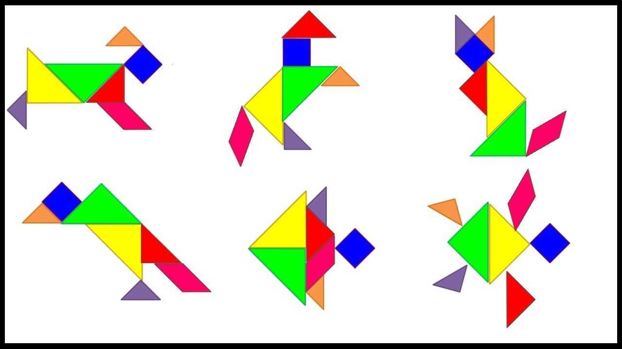 Resultat d'imatges de tangram