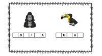 Hoy en nuestras fichas, aparecen unos animalitos a los que se les han perdido algunas letras, menos mal que tenemos unos dibujos que os van a a ser de ayuda […]