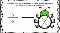 Hoy os compartimos estas divertidas fichas para trabajar las fracciones y su representación gráica en nuestras clases.