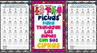 Fichas para repasar sumas dos CIFRAS Fichas para repasar sumas dos CIFRAS