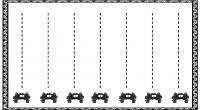 La siguiente actividad de grafomotricidad consiste en seguir el rastro que dejan los animales, todos ellos se tratan de trayectos rectilíneos; próximamente os traeremos nuevas fichas de grafomotricidad con trayectos […]