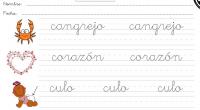 Cuaderno preescritura y perfeccionamiento de caligrafía