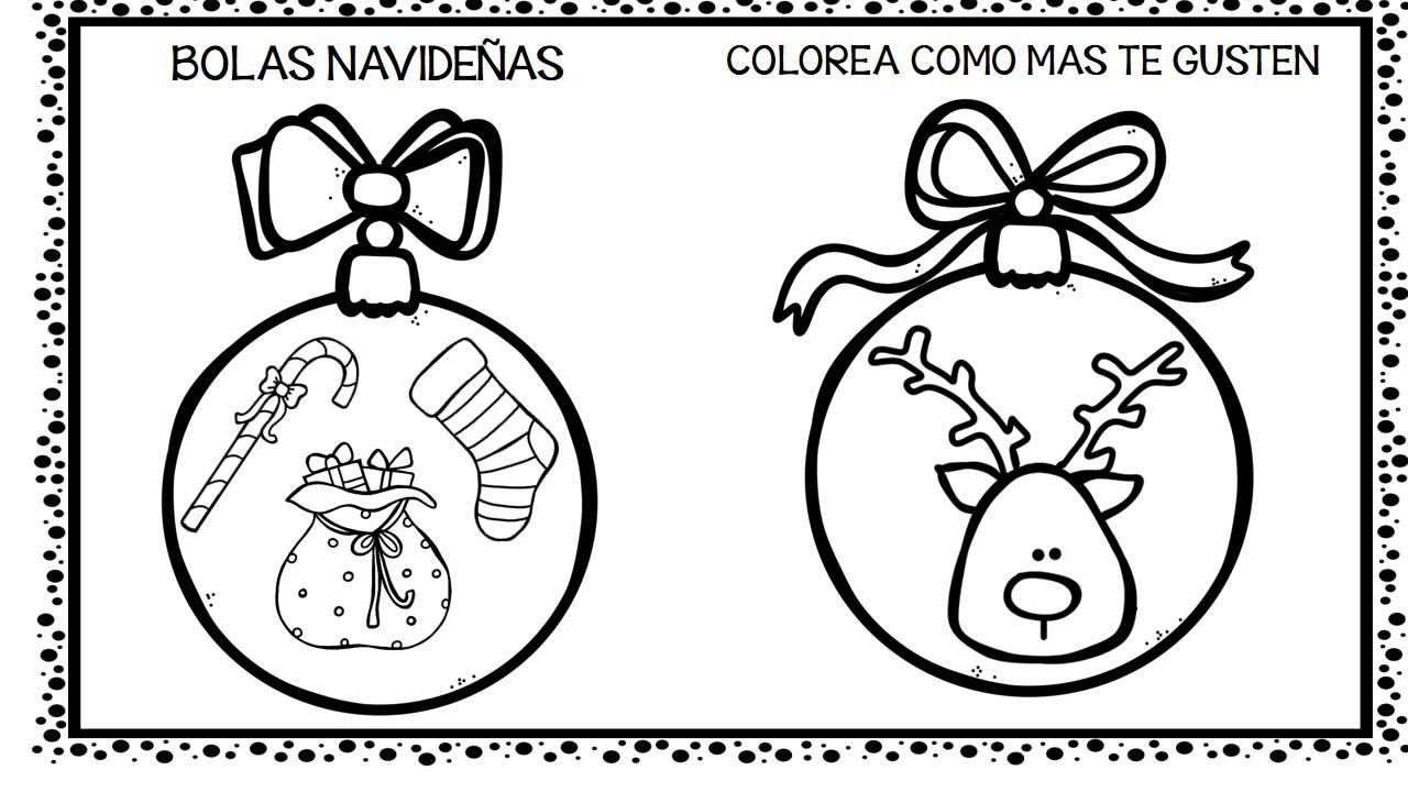 Imagenes Bolas De Navidad Para Colorear.30 Bolas De Navidad Para Colorear Y Decorar 11