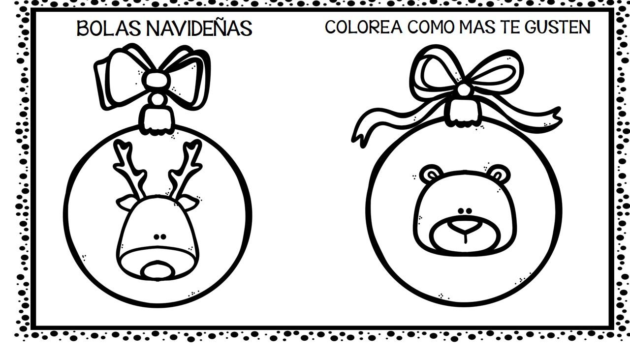 Imagenes Bolas De Navidad Para Colorear.30 Bolas De Navidad Para Colorear Y Decorar 7