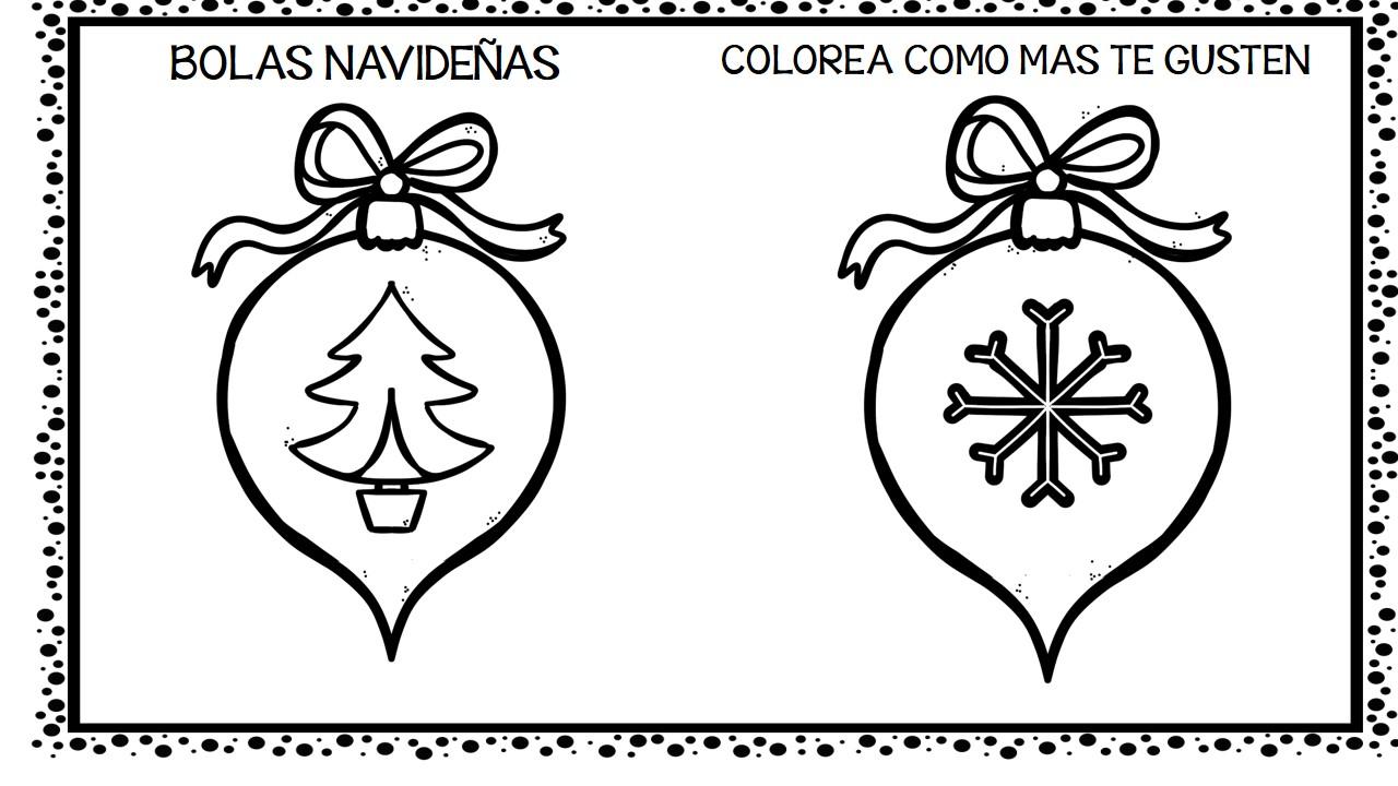 Imagenes Bolas De Navidad Para Colorear.30 Bolas De Navidad Para Colorear Y Decorar 8