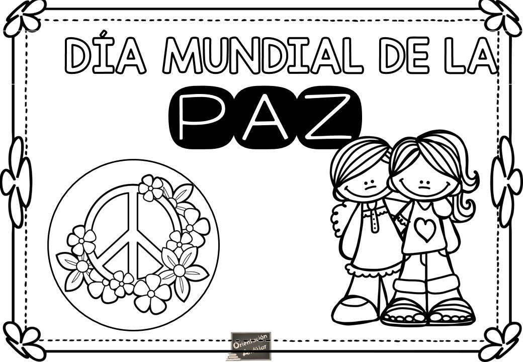 Carteles Dia De La Paz 10 Orientación Andújar Recursos
