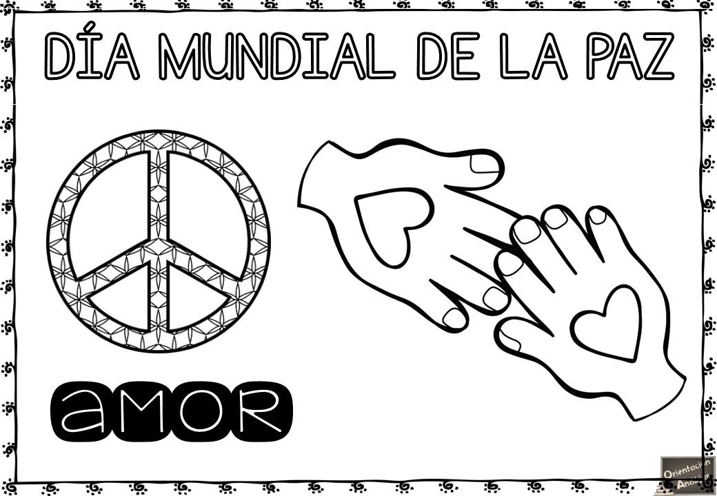 Día De La Paz Galería De Dibujos Y Carteles Niños Del: Orientación Andújar